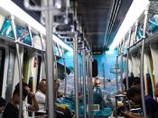 《战舰世界》专属地铁发车 敦刻尔克号开进郑州